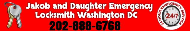 Jakob and Daughter Emergency Locksmith Washington DC 202-888-6768 - 24 Hour emergency service!